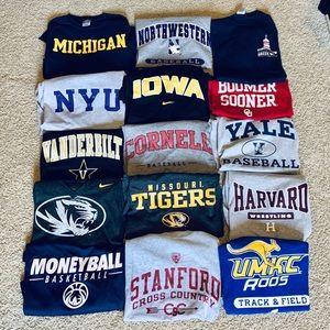 College shirt bundle